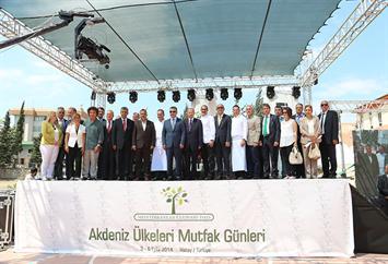 Maroun Chedid at the Mediterranean Culinary Days in Hatay - Turkey