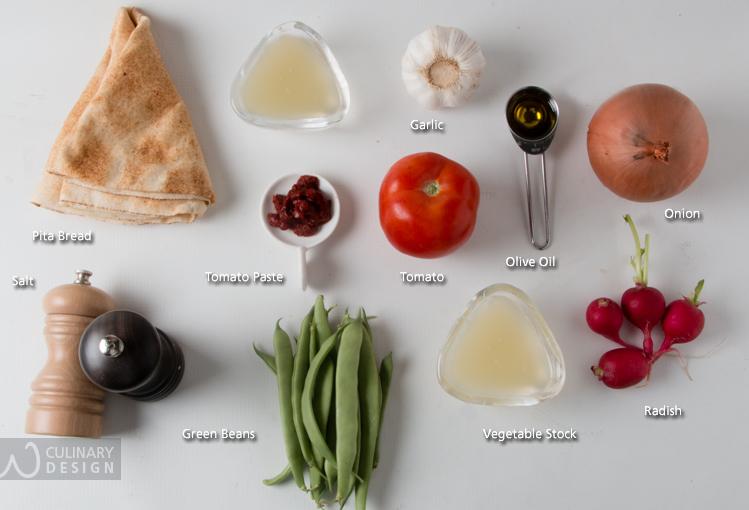 Loubieh Bi Zeit & Hummus Fatteh