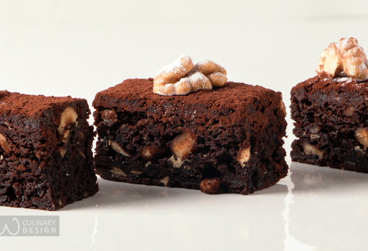 Chocolate Brownies with Walnuts