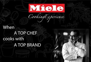 Chef Maroun Chedid at Miele