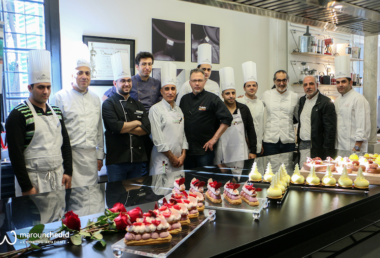 Valhrona & Les Vergers Boron at the Maroun Chedid Cooking Academy